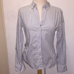 Tommy Hilfiger Checked Blouse 🐝 Size 8